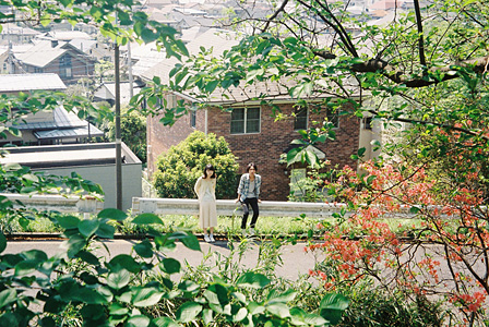 聖蹟桜ヶ丘にて 撮影:木村和平
