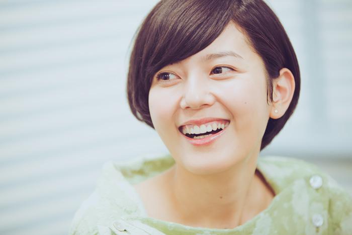 笑顔の菊池亜希子