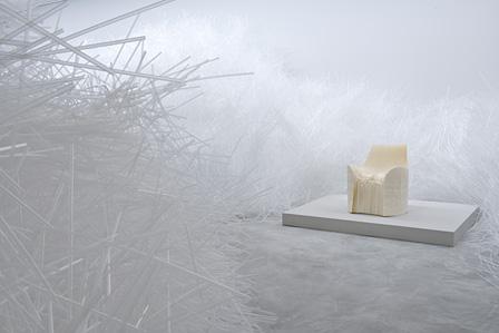 『Honey-pop』(2001) / 佐賀県立美術館『吉岡徳仁展―トルネード』展示風景