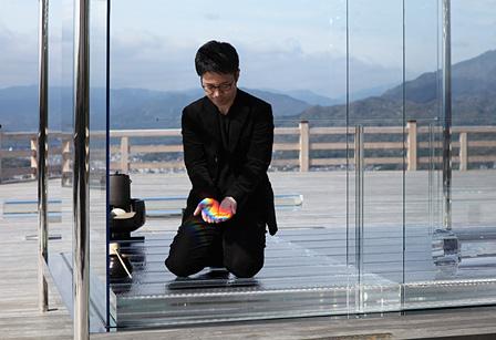 『吉岡徳仁 ガラスの茶室 - 光庵』