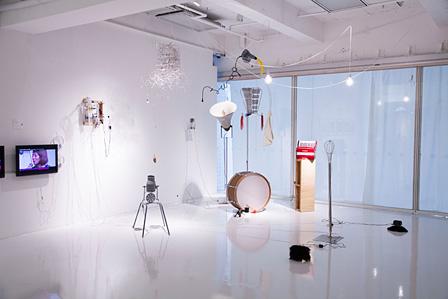 3331 Arts Chiyoda『DOMMUNE University of the Arts -Tokyo Arts Circulation-』毛利悠子 展示風景