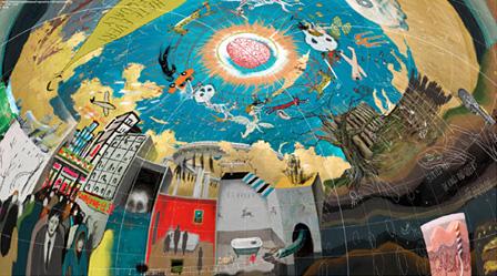『スペクトラム―いまを見つめ未来を探す』展 出展作家:榊原澄人 参考作品『Solitarium』(2015)イメージドローイング