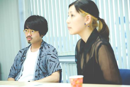 左から:ハマ・オカモト、sébuhiroko