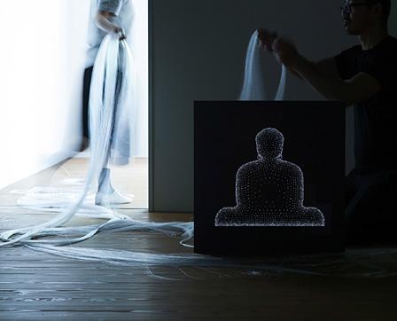 P3 art and environment プロジェクトスペース『回向―つながる縁起』展 撮影:忽那光一郎