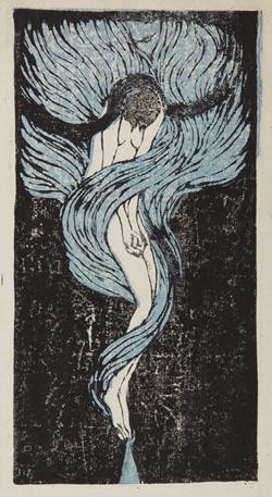 田中恭吉『失題』 1914年 個人蔵