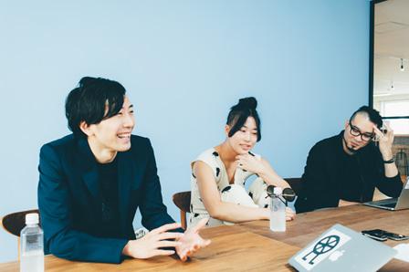 左から:長谷川達也、川村美紀子、本山敬一