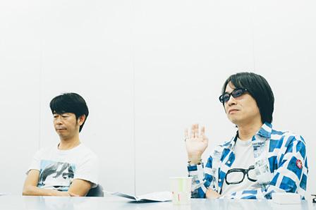 左から:桜井秀俊、YO-KING
