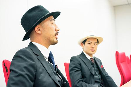 左から:小杉隼太、高岩遼