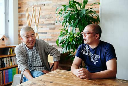 左から:曽我部昌史、熊谷玄