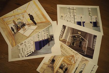『ヨコハマの家』の会場イメージ図