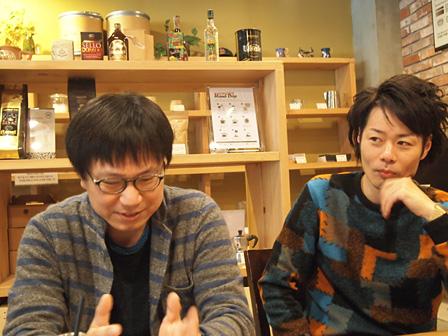 左から:ソン・ギウン、多田淳之介