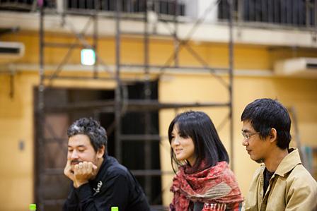 左から:安野太郎、渡辺未帆、危口統之