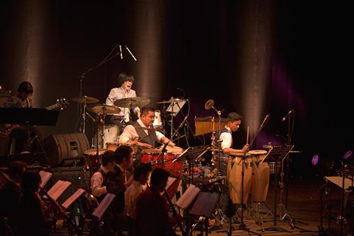『Asian Youth Jazz Orchestra』 写真提供:国際交流基金アジアセンター