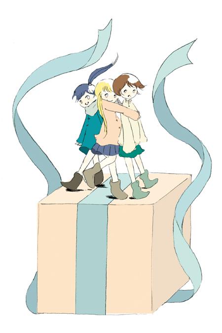 謎に包まれた女の子3人組「さよならポニーテール」について