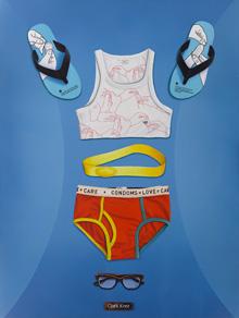 トゥクラール&タグラ Thukral & Tagra『ESSENTIALS (CLARK KENT & LOIS LANE 2)』 2011 Oil on canvas 48