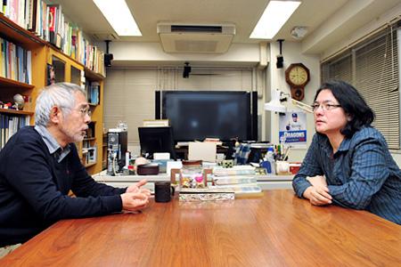 鈴木敏夫と岩井俊二