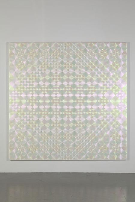 Daisuke Ohba『SPIRAL (transformation)』 2012 180 x 180 cm acrylic on cotton photo : Nobutada OMOTE|SANDWICH
