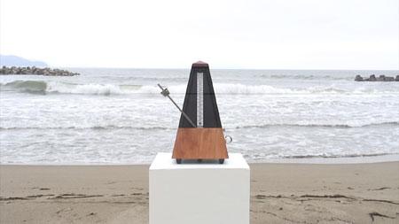 八木良太《Common Difference (Sea and Metronome)》2009年