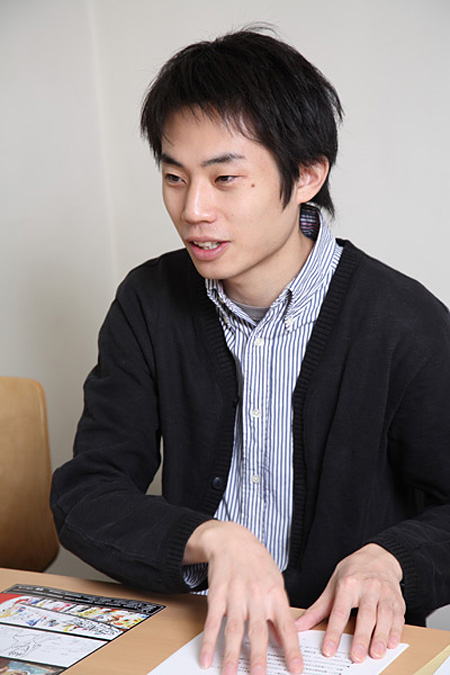 柴幸男(撮影・高橋エイジ)