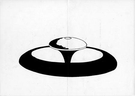 GENGA #001 / マーカー、コピー用紙 / 210 x 297 mm copyright © Hiraku Suzuki