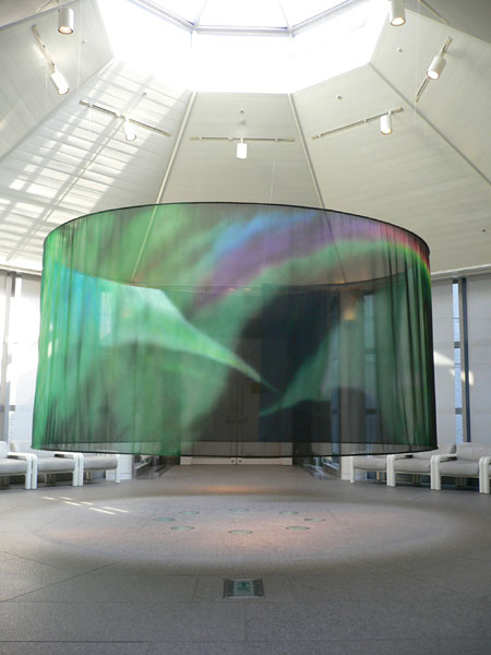 市川武史《オーロラ'09/aurora'09》2009(六本木ヒルズプログラム)