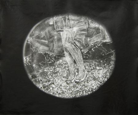 ©Saori Miyake 「山、スカート1」 2009 gelatine silver print 35.6x43.2cm