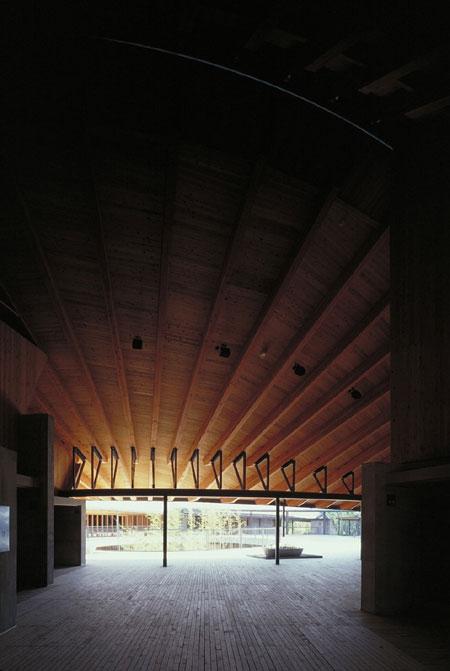 内藤廣 《牧野富太郎記念館》 1999年 ©内藤廣建築設計事務所