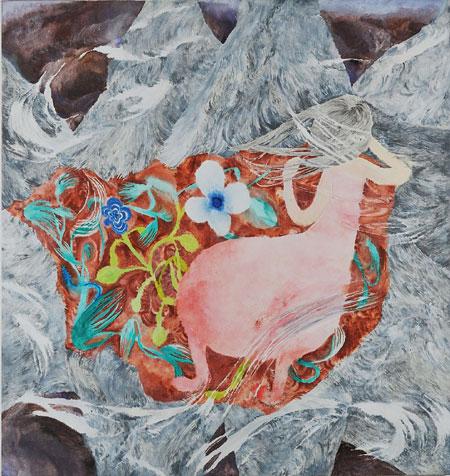 村瀬恭子《Flowery Planet》2009 coutersy of Taka Ishii Gallery