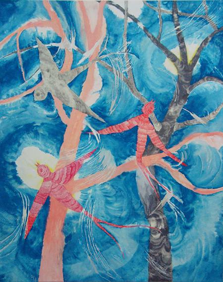 村瀬恭子《Swallows 3》2009 coutersy of Taka Ishii Gallery