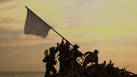 映像作品≪海の幸・戦場の頂上の旗≫ 2010