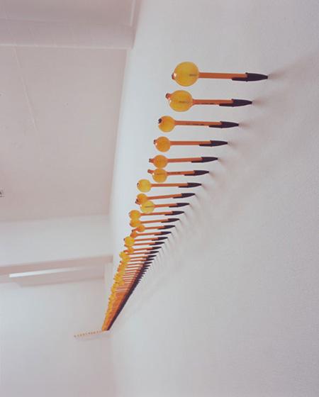 伊佐治雄悟、『Pen』2008、ボールペンに熱処理