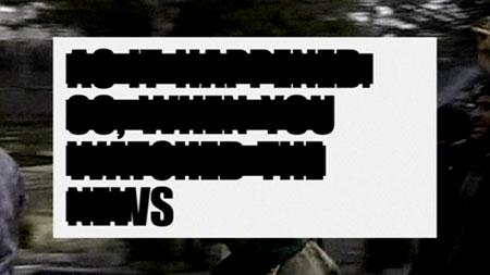 グランプリ Why Not Associates(イギリス) : CF「Unseen Gaza, Channel 4 Promo」
