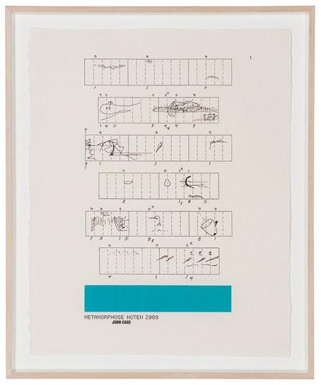 特別賞 浅葉克己 : 「デザインの港。浅葉克己展。2009 出品作(図形楽譜)」