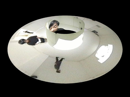 《モレルのパノラマ》2003年 藤幡正樹