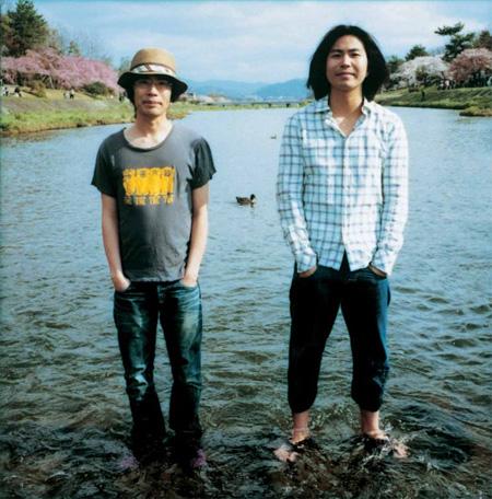 くるり(左:岸田繁)
