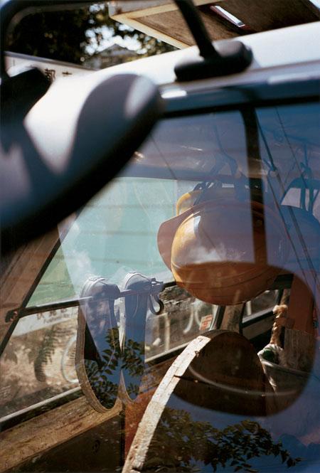 ウィリアムエグルストン 「京都」 ライトジェットプリント 2001 年 カルティエ現代美術財団蔵 © 2001 Eggleston Artistic Trust, Memphis