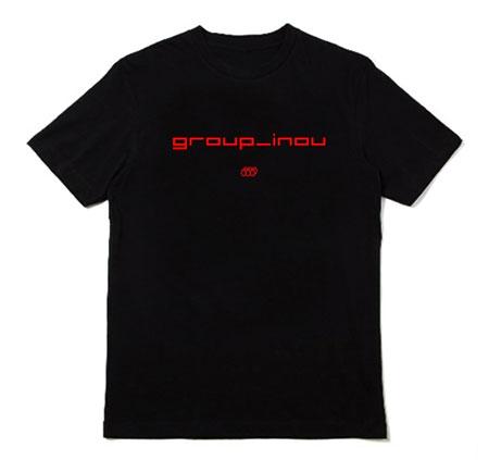 group_inou『_』ディスクユニオン限定盤附属のTシャツデザイン