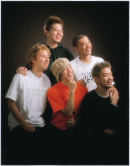 RIP SLYME(2001年当時のアーティスト写真)