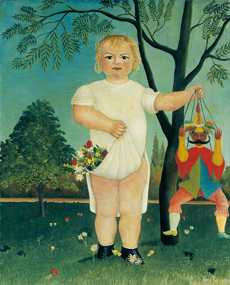アンリ・ルソー 《赤ん坊のお祝い!》 1903年 油彩、カンヴァス