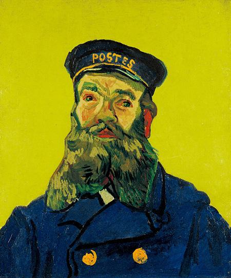 フィンセント・ファン・ゴッホ 《郵便配達人 ジョゼフ・ルーラン》 1888年 油彩、カンヴァス