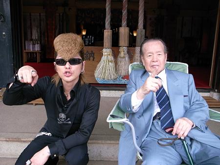 左:綾小路翔、右:浜田幸一
