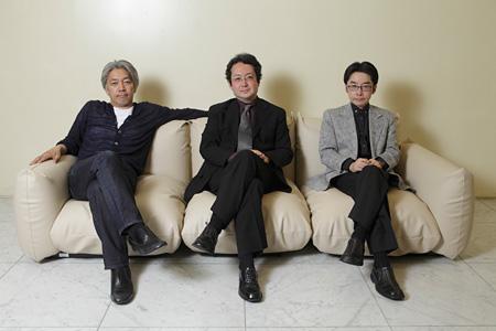 坂本龍一、浅田彰、小沼純一の3人