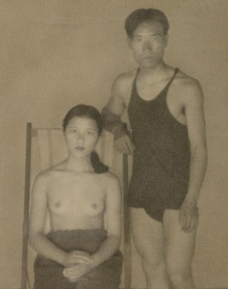 小関庄太郎 二人像 1932年