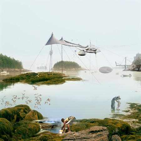 Mary Mattingly Air Ship Arecibo City, 2010 30 X 30 inches Chromogenic dye coupler print © Mary Mattingly. Courtesy Robert Mann Gallery, New York
