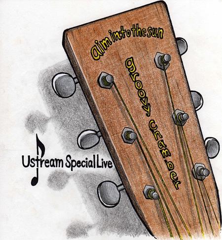 suzumokuが描き下ろしたsuzumoku Ustreamライブ音源用ジャケット