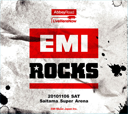 V.A.『EMI ROCKS 20101106 Saitama Super Arena』ジャケット