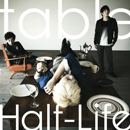 Half-Life『table』ジャケット