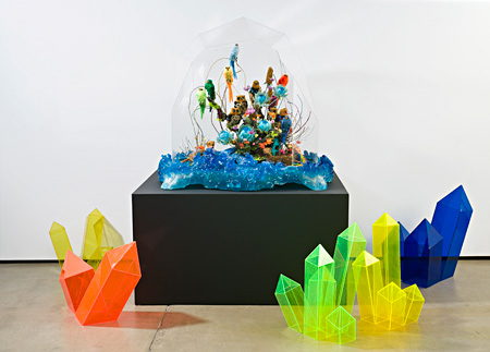 crystalised menagerie, 2009, ミクストメディア, 撮影 Graham Baring Kate Rohde, Courtesy of the artist and Karen Woodbury gallery, Melbourne