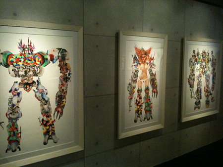 『L.A.SECRET STUDIO: DAVID CHOE&JAMES JEAN』会場風景