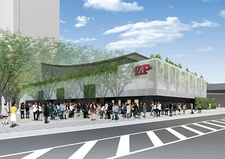 新Zepp Osaka 中庭北側